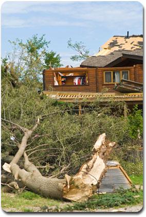 Tornado damage - property loss